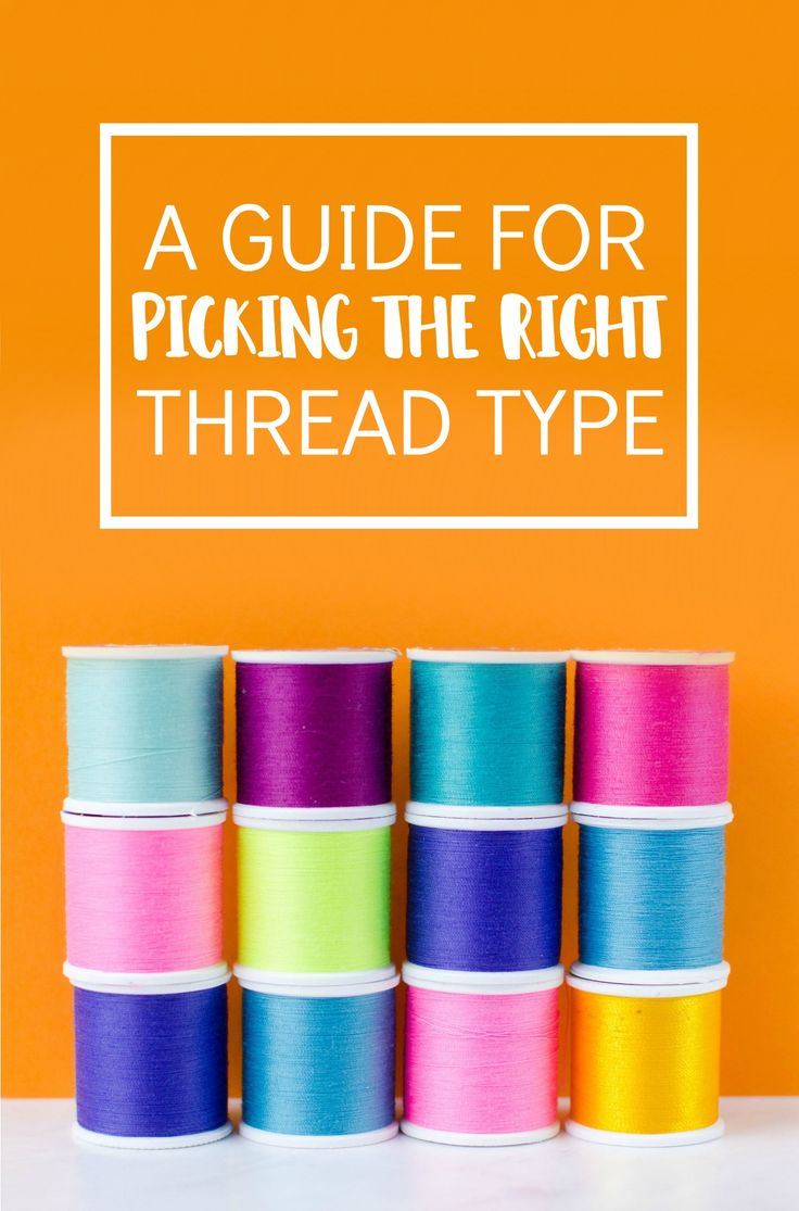 There's more to choosing thread for your sewing projects than  simply finding ...