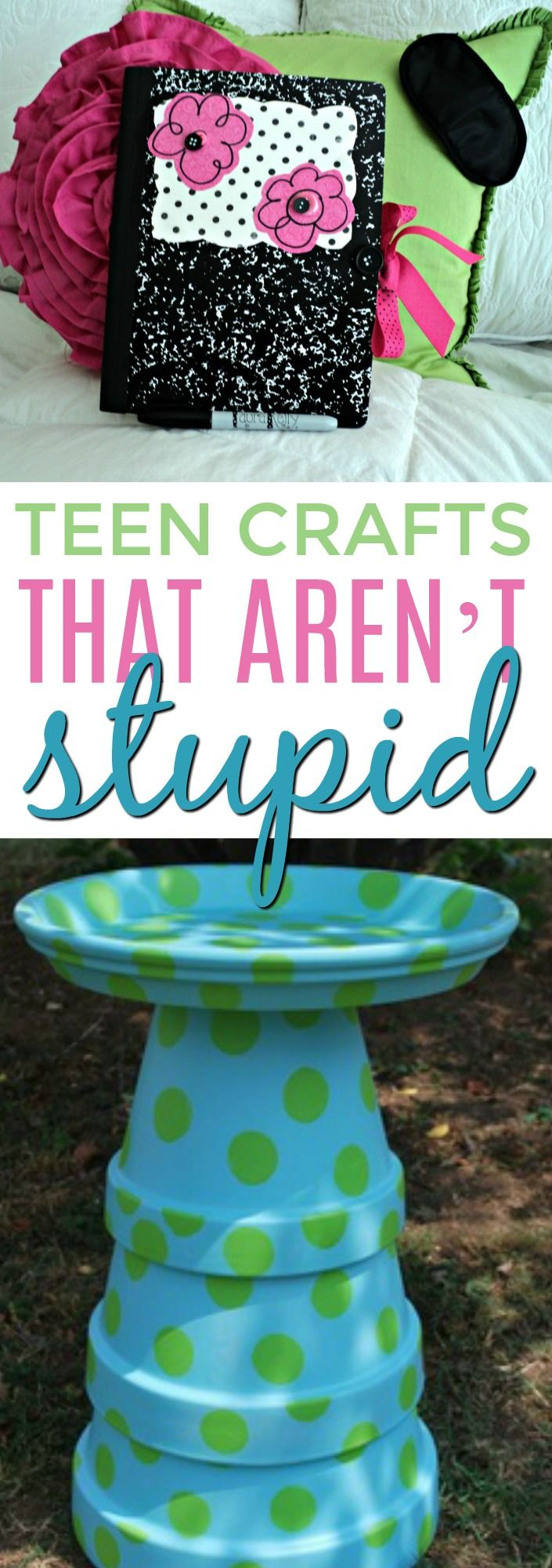 There  are so many great teen crafts out there but sometimes, it's hard to fin...