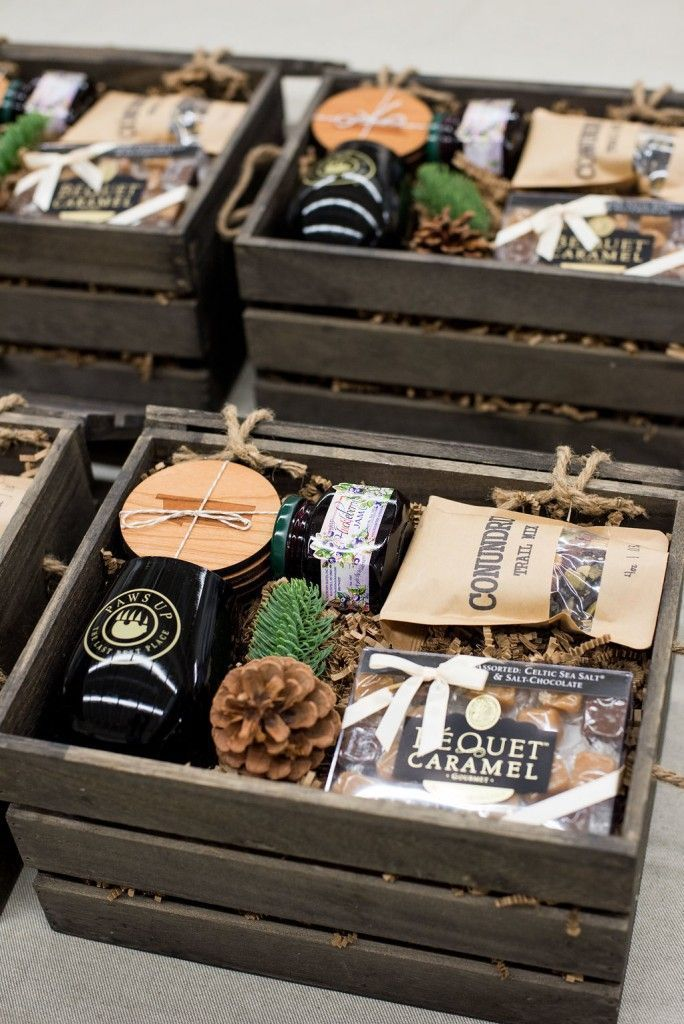 Best Corporate Gifts Ideas CORPORATE EVENT GIFT BOXES// Custom designed brown an...