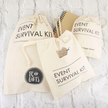 Corporate Event Survival Bag X 25