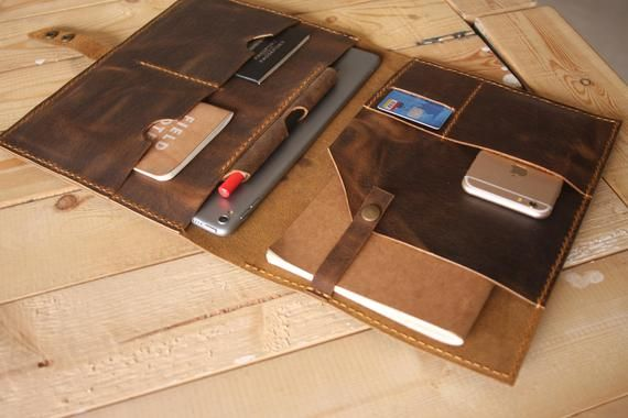 Leather macbook case | Etsy