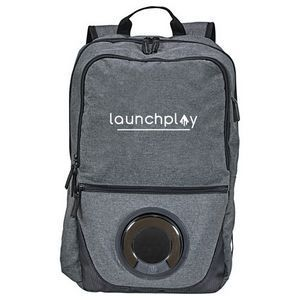 The Bluetooth Speaker Computer Backpack! Say what?! This backpack lets you take ...