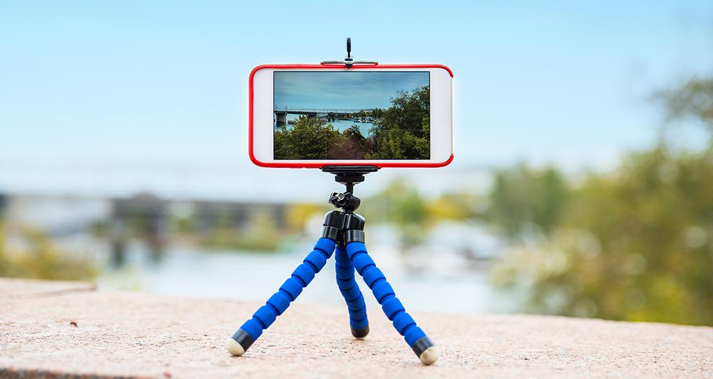 tripode mobile camera