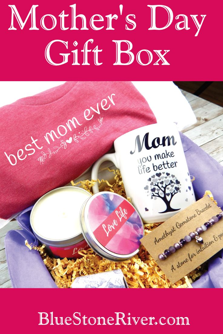 A beautiful gift of inspirational items for mom this Mother's Day. #momgift #mot...