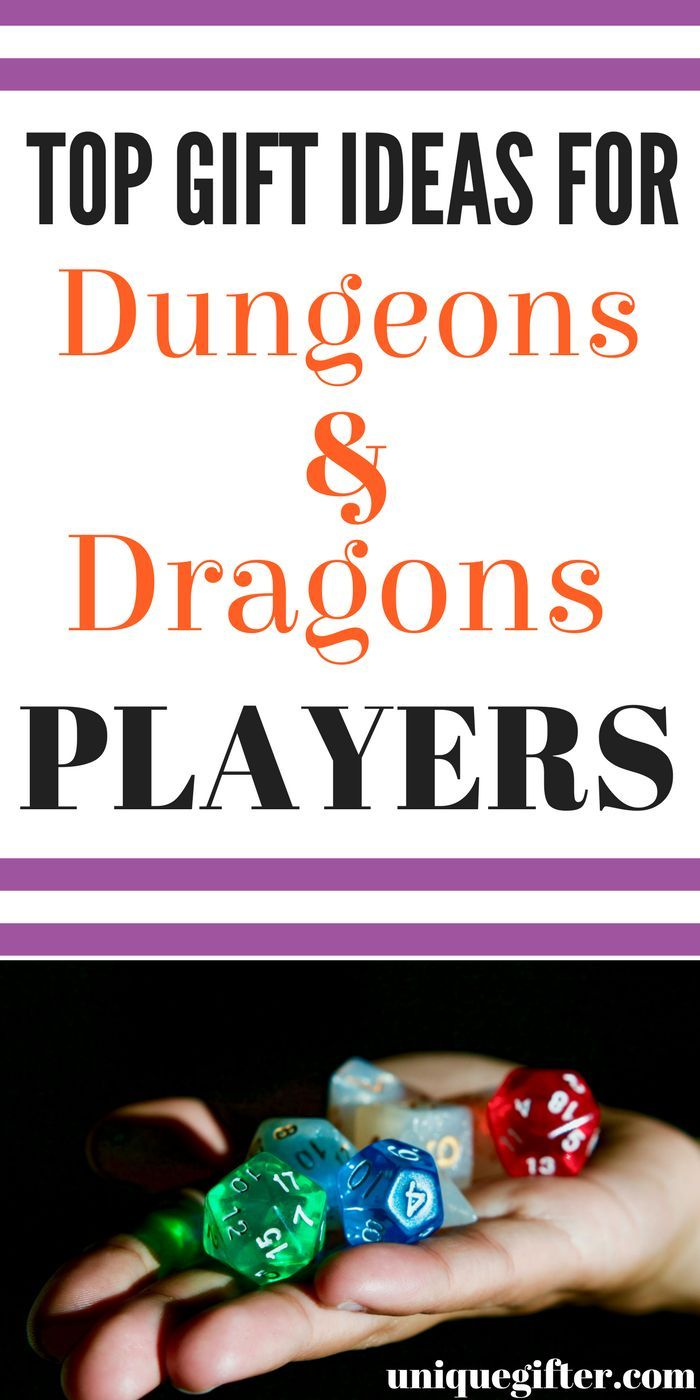 Gift Ideas for D&D Players | Dungeons and Dragons gift ideas for your boyfriend ...