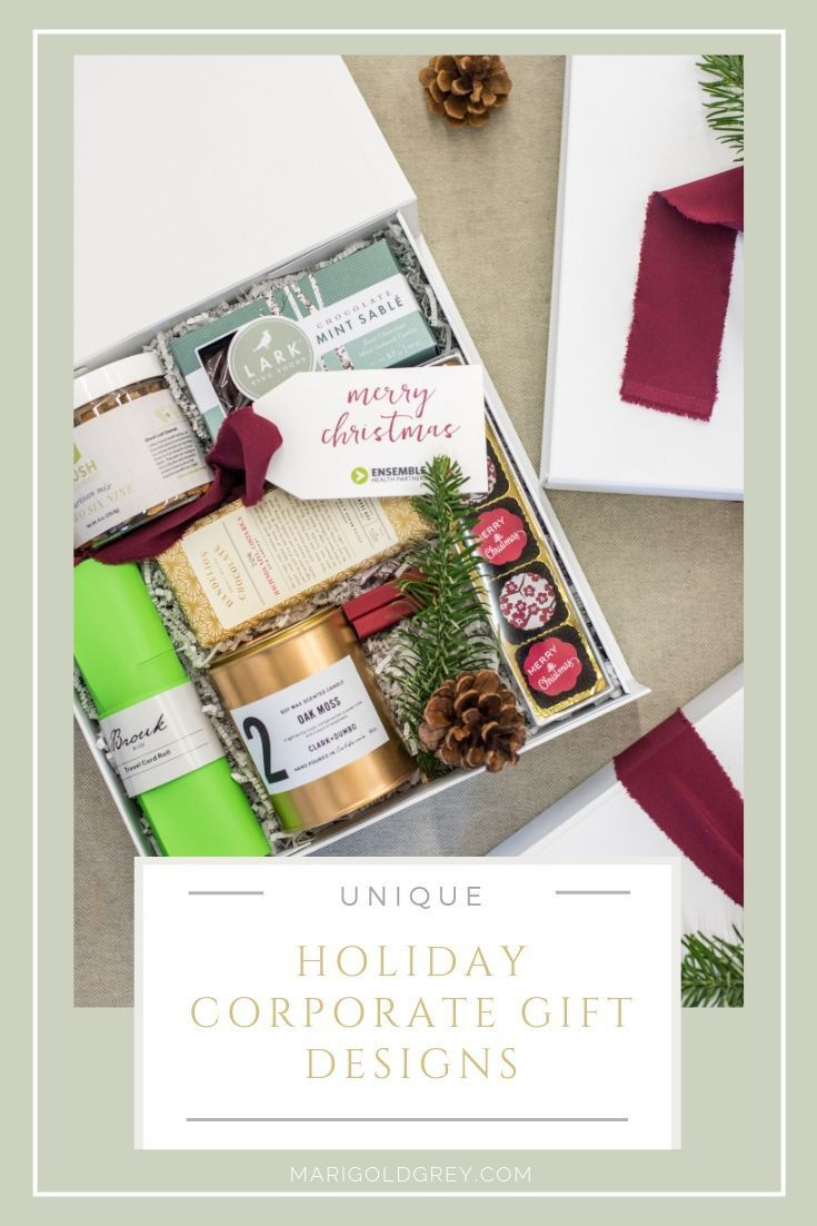 HOLIDAY GIFTS// Give company professionals unique and thoughtfully designed gift...