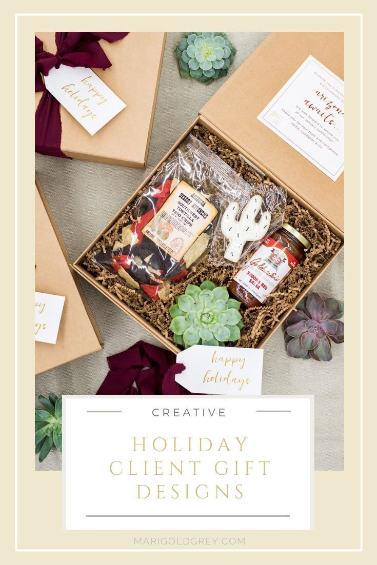 HOLIDAY GIFTS// Give creative and thoughtfully curated gift boxes to your compan...