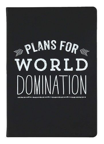Cool gifts for teens and tweens - World Domination Journal Book #christmas