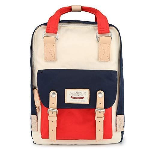 Himawari Vintage Backpack (Travel and school bags for teens)