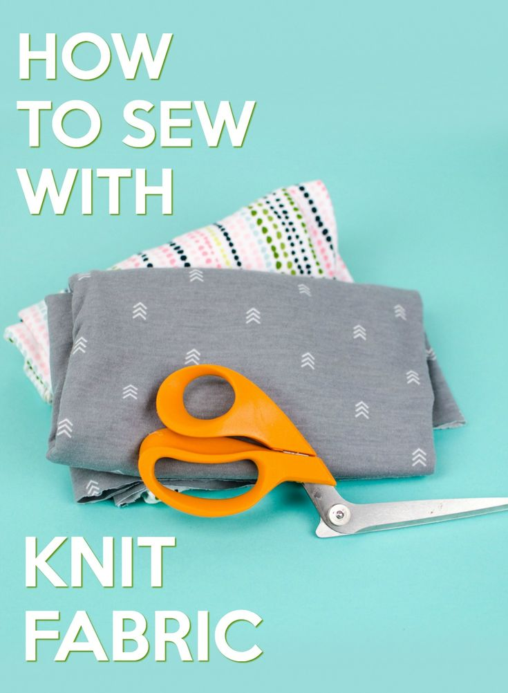 Sewing with knit fabric isn't difficult as long as you understand  the differe...