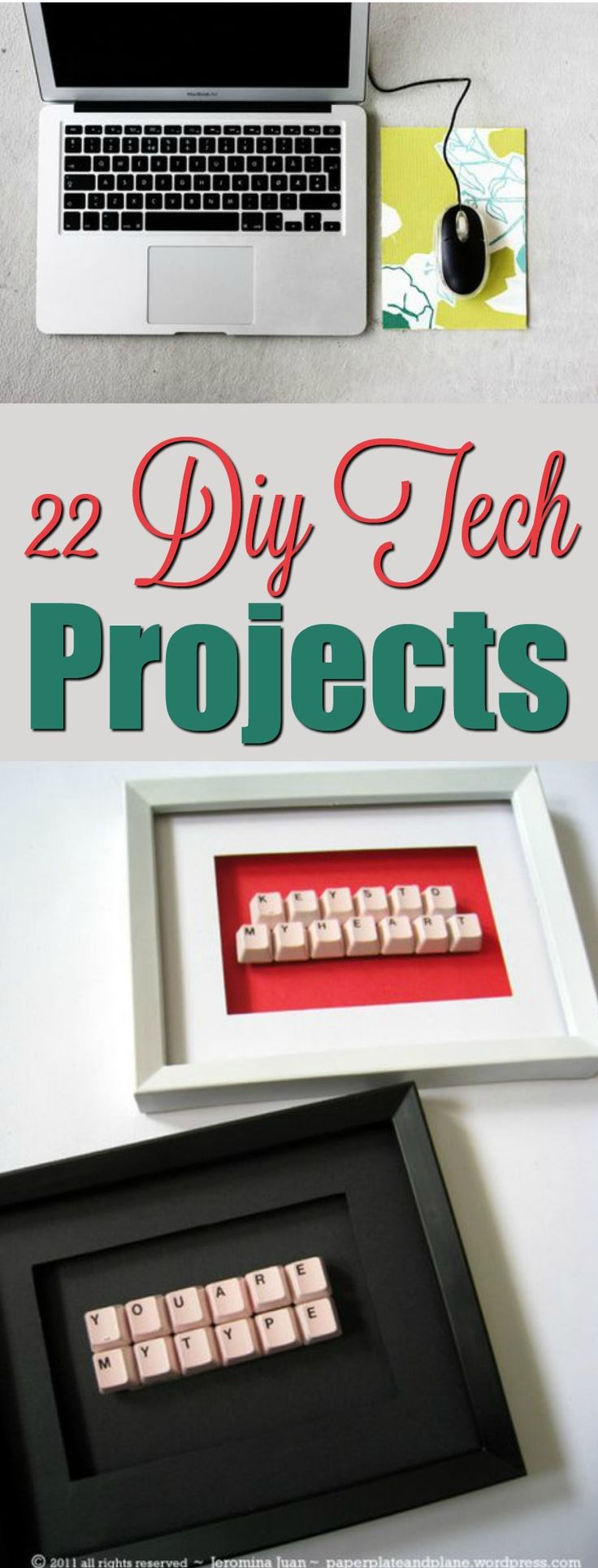 We have lots of awesome ideas in this 22 DIY Tech Projects roundup  for the Tech...