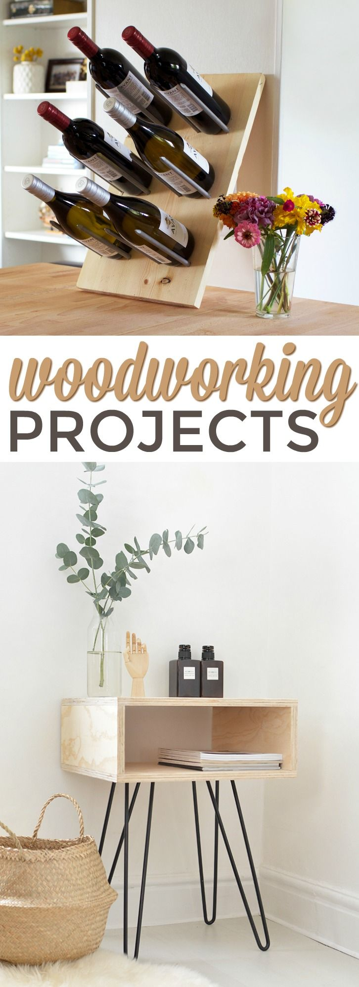 Woodworking projects are some of my favorites to make. There are  so many things...