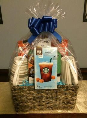 Coffee Gift Basket, Gift basket ideas, Corporate Gifts #regalosimpares