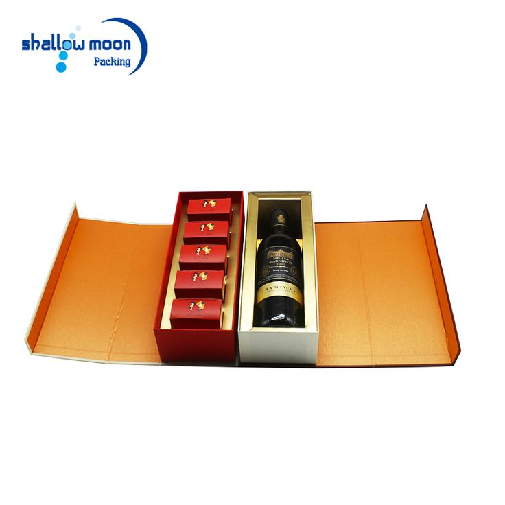Double Door Business Gift Use and High class gift box with EVA lining Package corporate gift set