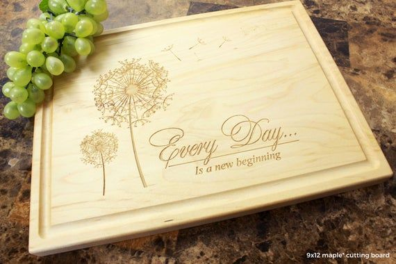 Personalized Engraved Cutting Board- Wedding Gift, Anniversary Gift, Housewarmin...