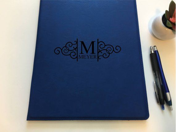 Personalized Portfolio for Women | Leather Padfolio | Journal | Corporate Gift |...