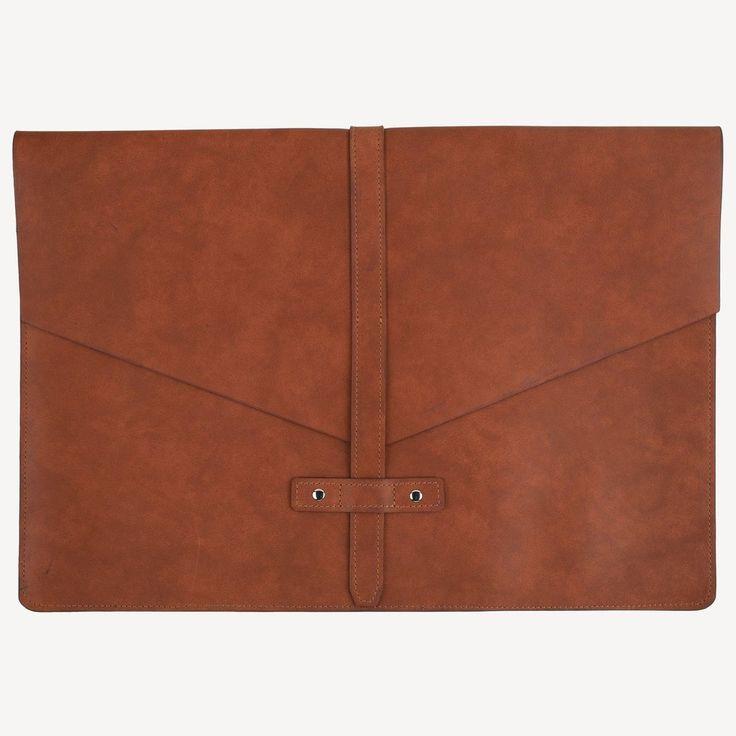 The BELLTOWN™ Laptop Sleeve - Cognac