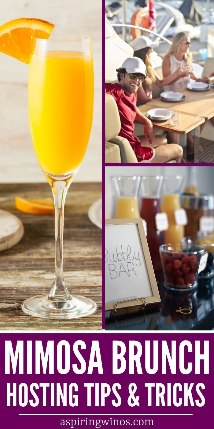 How to host a mimosa brunch! Use our tips and steps to pull together a brunch me...