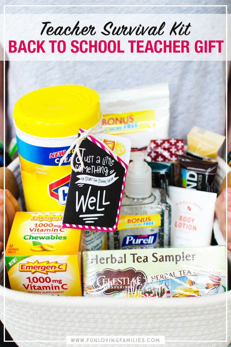 Practical back to school teacher gift ideas that crafty moms will love to give a...