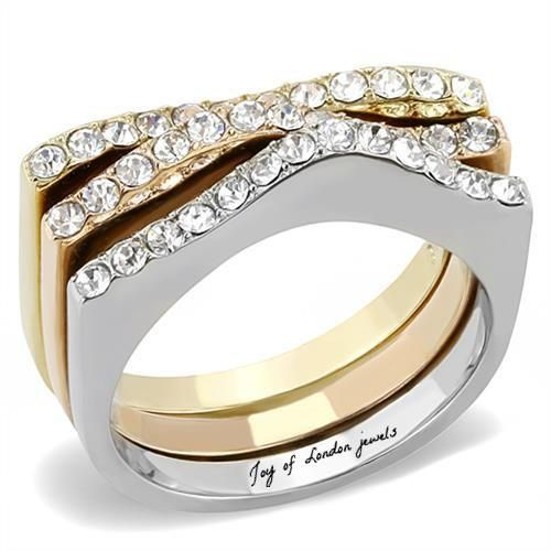 A Perfect 3TCW Round Cut Russian Lab Diamond Wedding Bands Stacking Ring