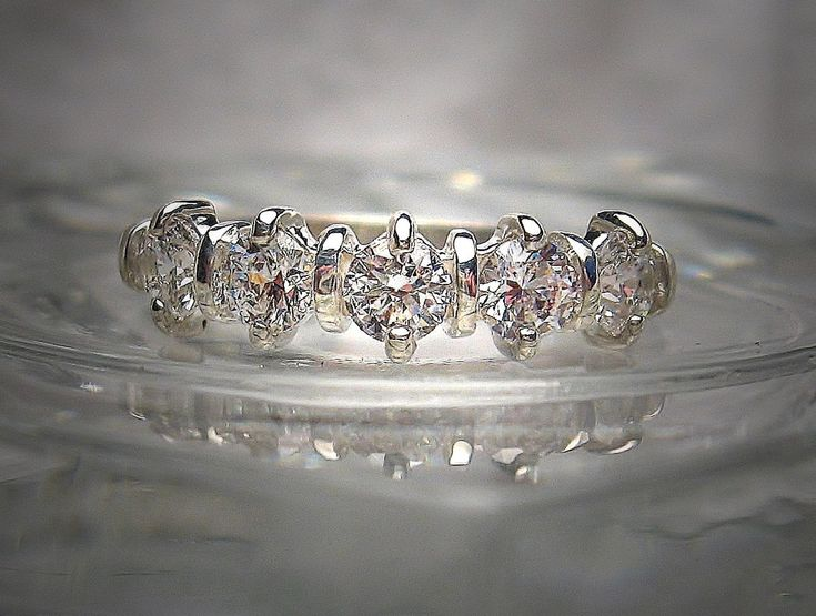 A Perfect Round Cut Solitaire Russian Lab Diamond Engagement Ring