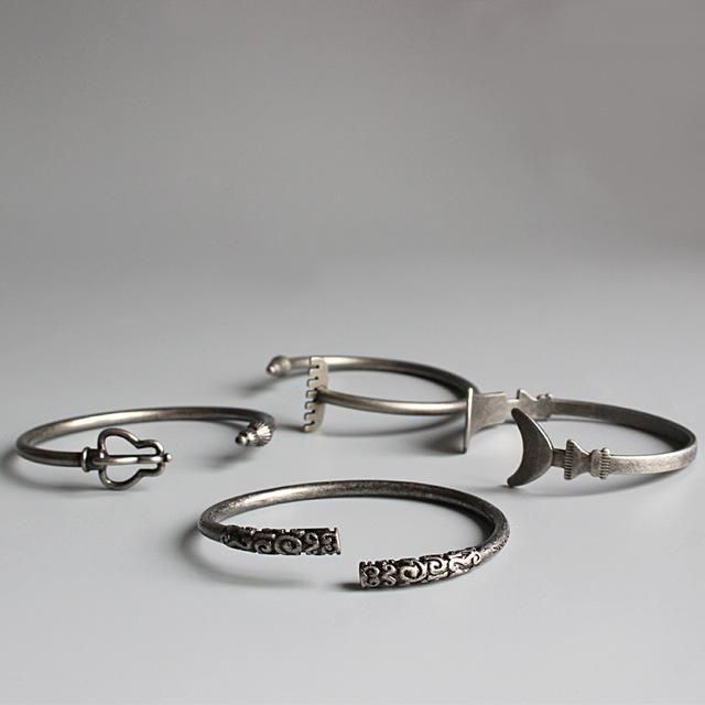 Men's Tibetan Vajra Spirit & PowerWeapon Bracelets