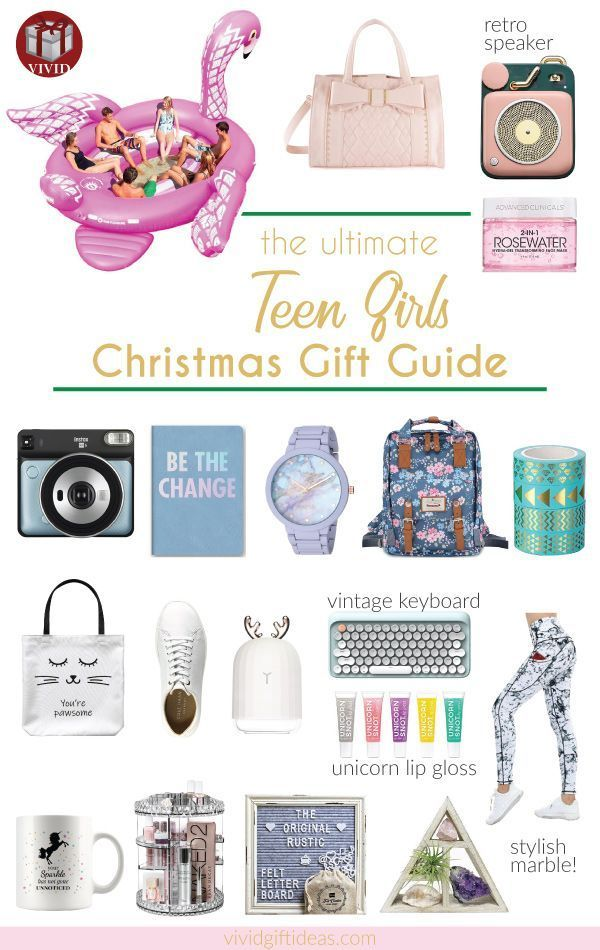 Creative and cool Christmas Gifts For Teen Girls (Popular holiday gift guide for...