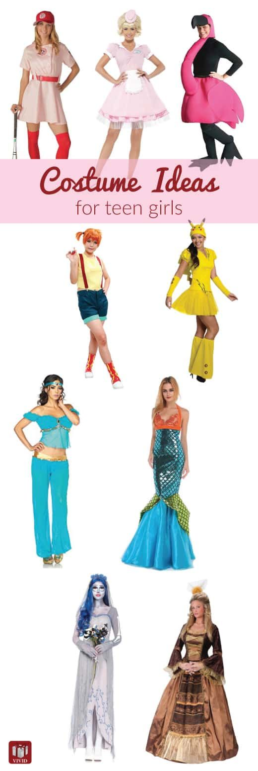 Easy and cute costumes for teens