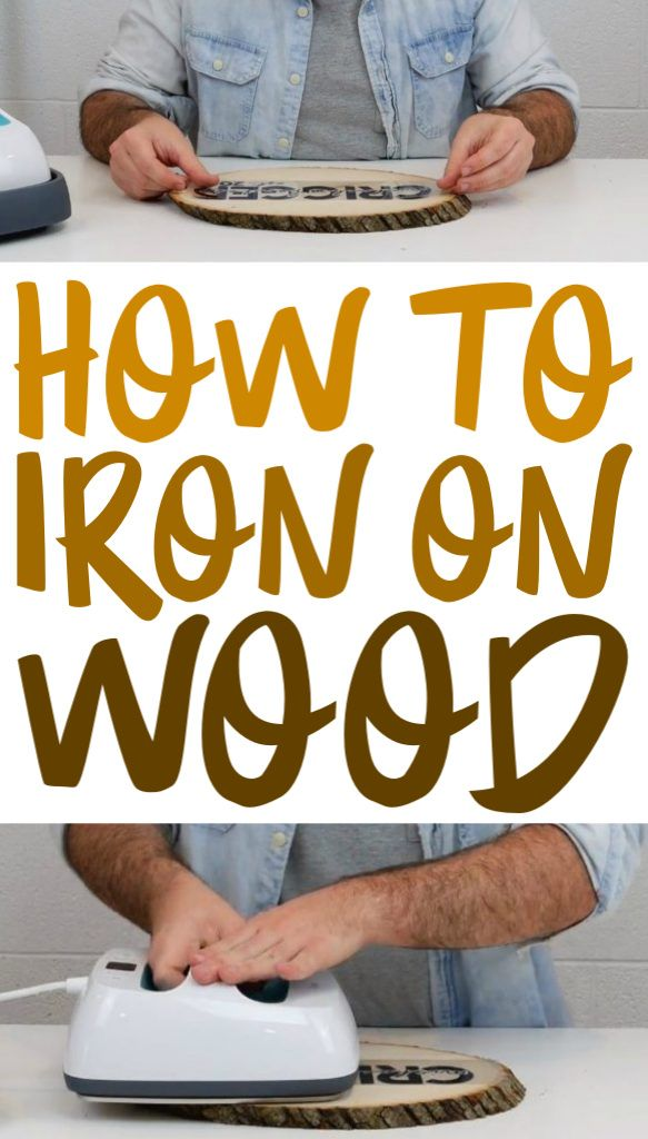 If you're looking for tips and tricks on how to perfectly iron on  wood this t...