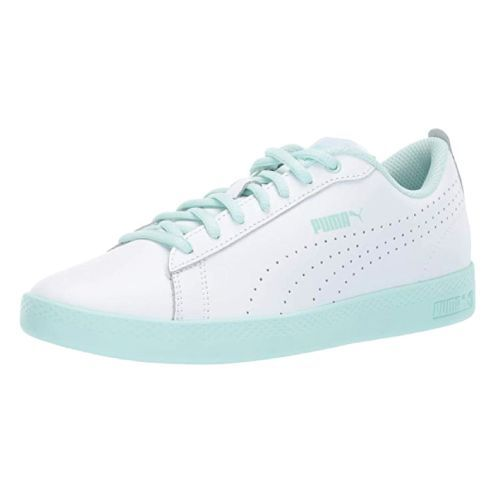 Mint and White PUMA Smash Sneaker. Stylish gifts for her. Best Christmas Gifts f...