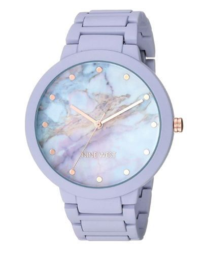 Nine West Beautiful Purple Marble Watch (Awesome Christmas Gifts For Teen Girls)