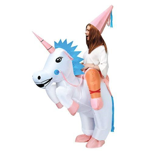 Ride your own unicorn to the party! (Cool Halloween Costumes for Teens)