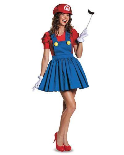 Wanna be Mario this Halloween? #costumes #teencostumes