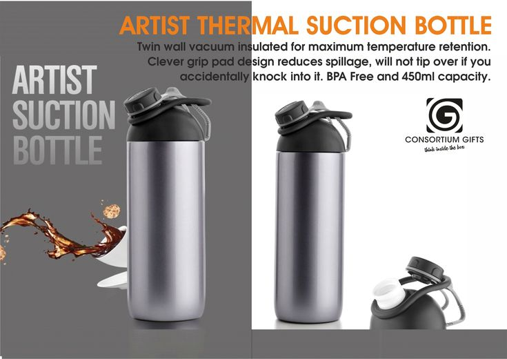 Artist Thermal Suction Bottle