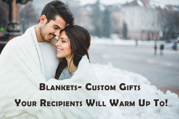 Corporate Gifts #9 – Blankets- Custom Gifts Your Recipients Will Warm Up To! #...
