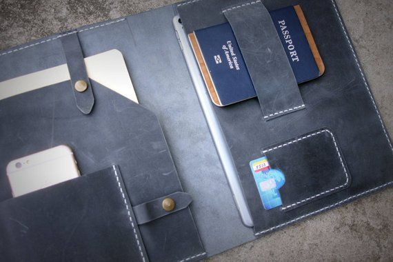 Corporate Gifts  : Personalized Corporate gifts Leather Portfolio Wedding Client...