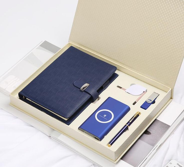 Office Stationery Business Gift Set fashion promotional executive pen set with c...