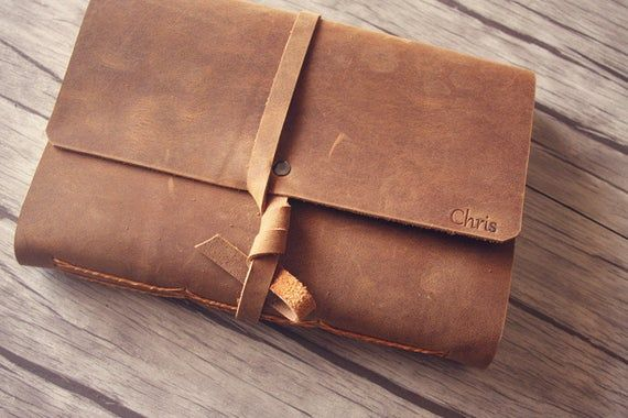 Personalized wedding gifts, leather journal, business gifts, employee gifts, cor...