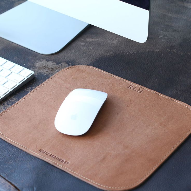 The Architect Fine Leather Mouse Pad The Architect mouse pad is the perfect asse...