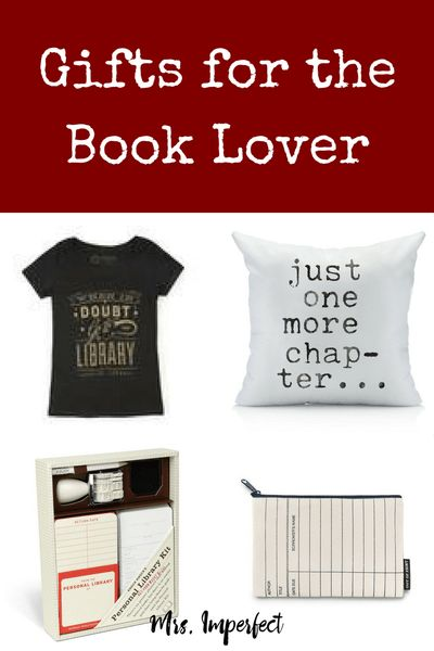 The ultimate gift guide for the book lover or bookworm in your life.
