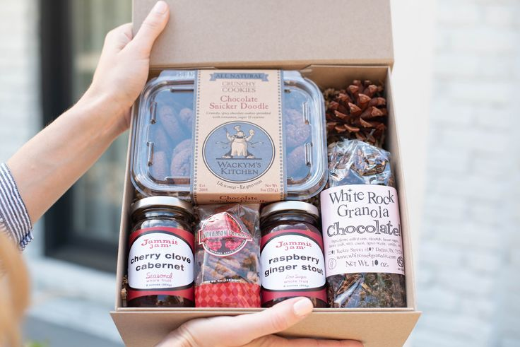 These gift boxes from Jammit Jam make great corporate gifts for the holidays!