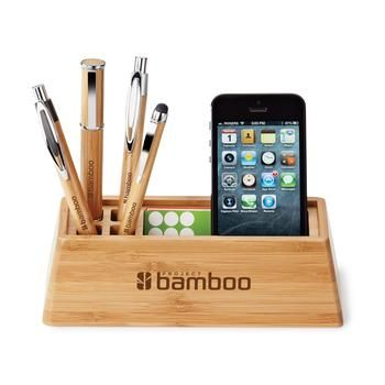 This multi-functional custom desk organizer is a welcomed addition to any desk. ...