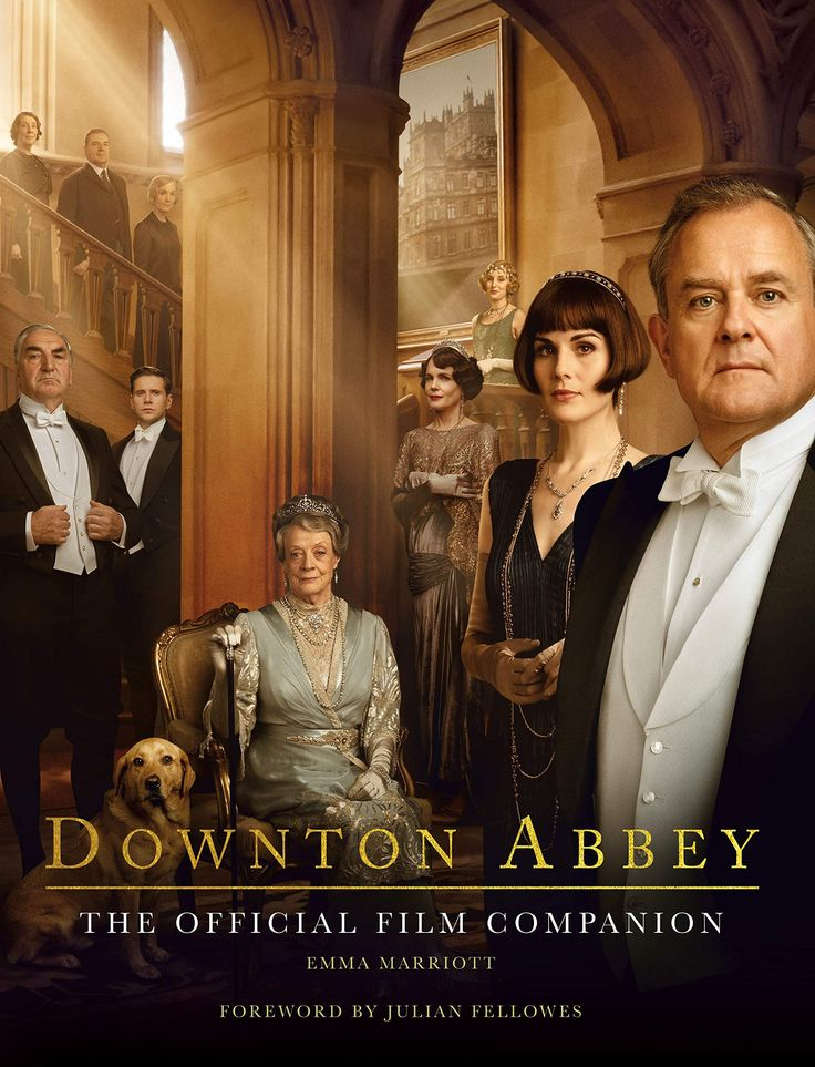 Downton Abbey: The Official Film Companion book. From Amazon. #downtonabbey