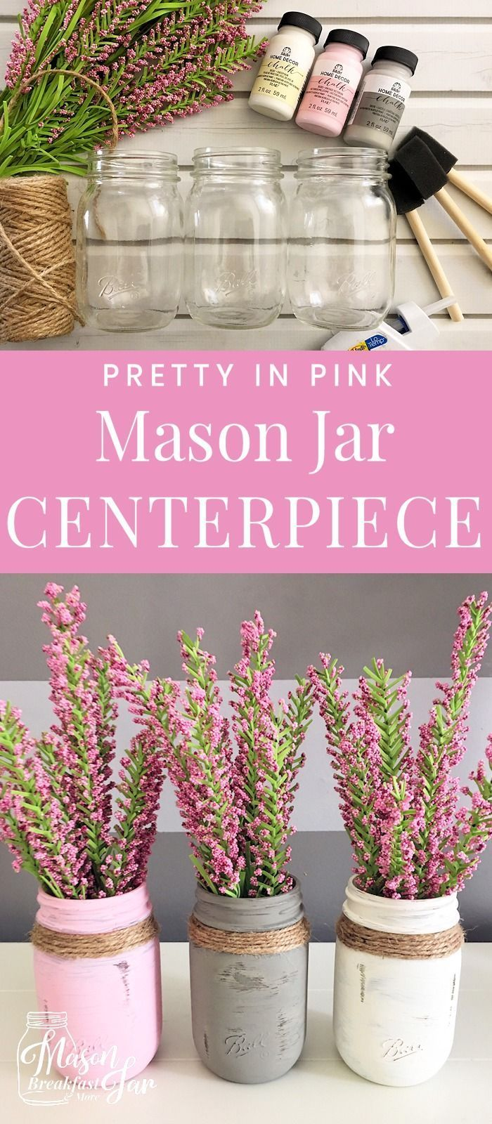 Whether you are looking for Mason jar centerpieces for weddings or for your home...