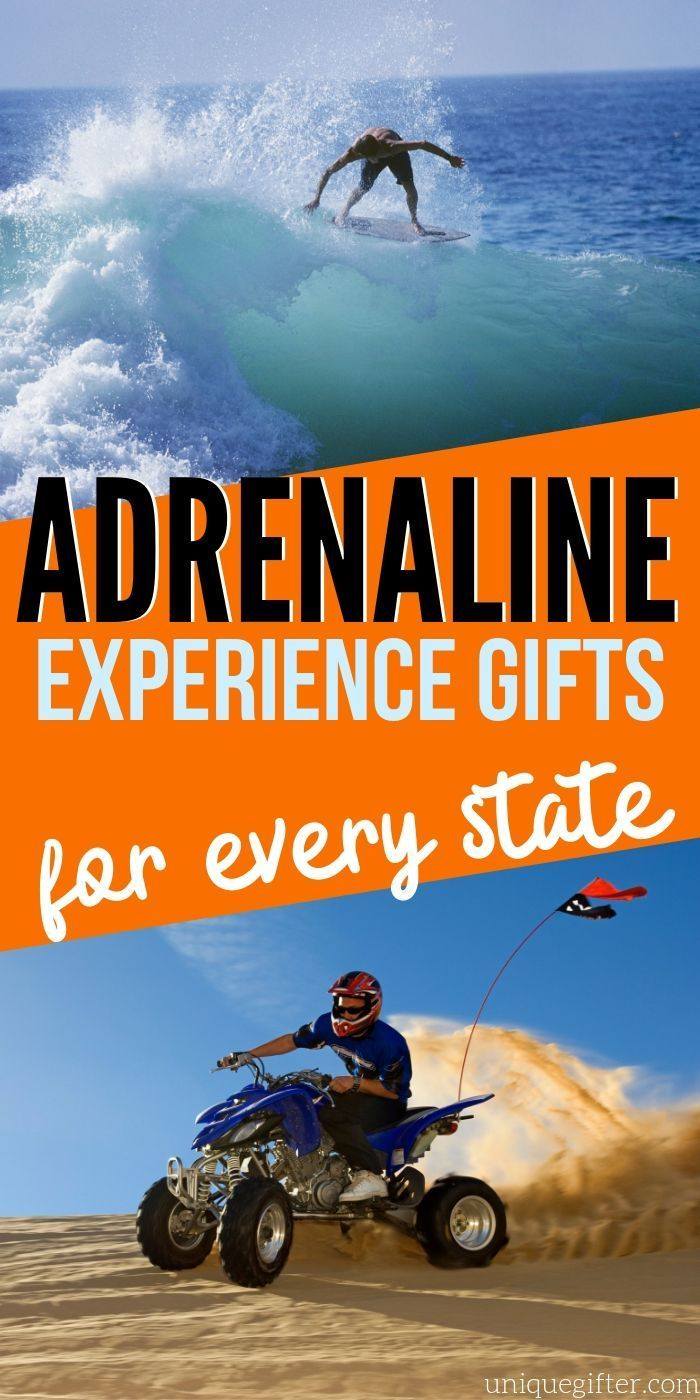Looking for adventure in your state? This is an adrenaline junkie's guide to eve...