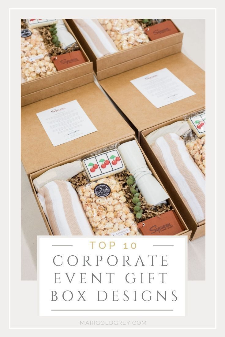 CORPORATE GIFTS// Professional curated gift box designs to welcome colleagues an...
