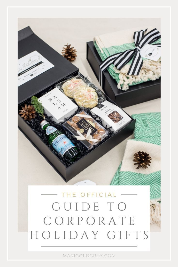 CORPORATE HOLIDAY GIFT GUIDE// Ideas and trends to curate perfect professional h...