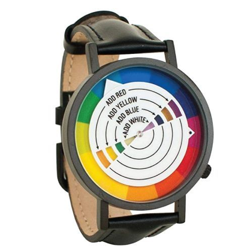 Color Wheel Artistic Watch. Cool gifts for graphic designers. Gifts for Artistic...