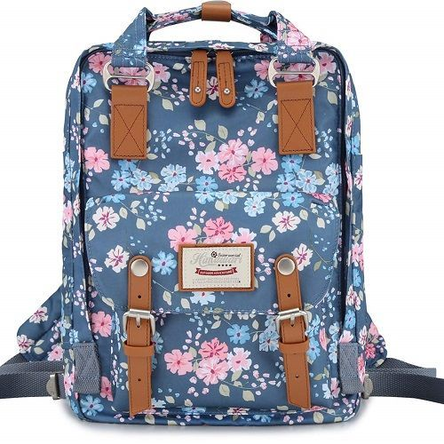 Himawari Retro Floral Backpack Laptop (Best Christmas Gifts For Teenage Girls 20...