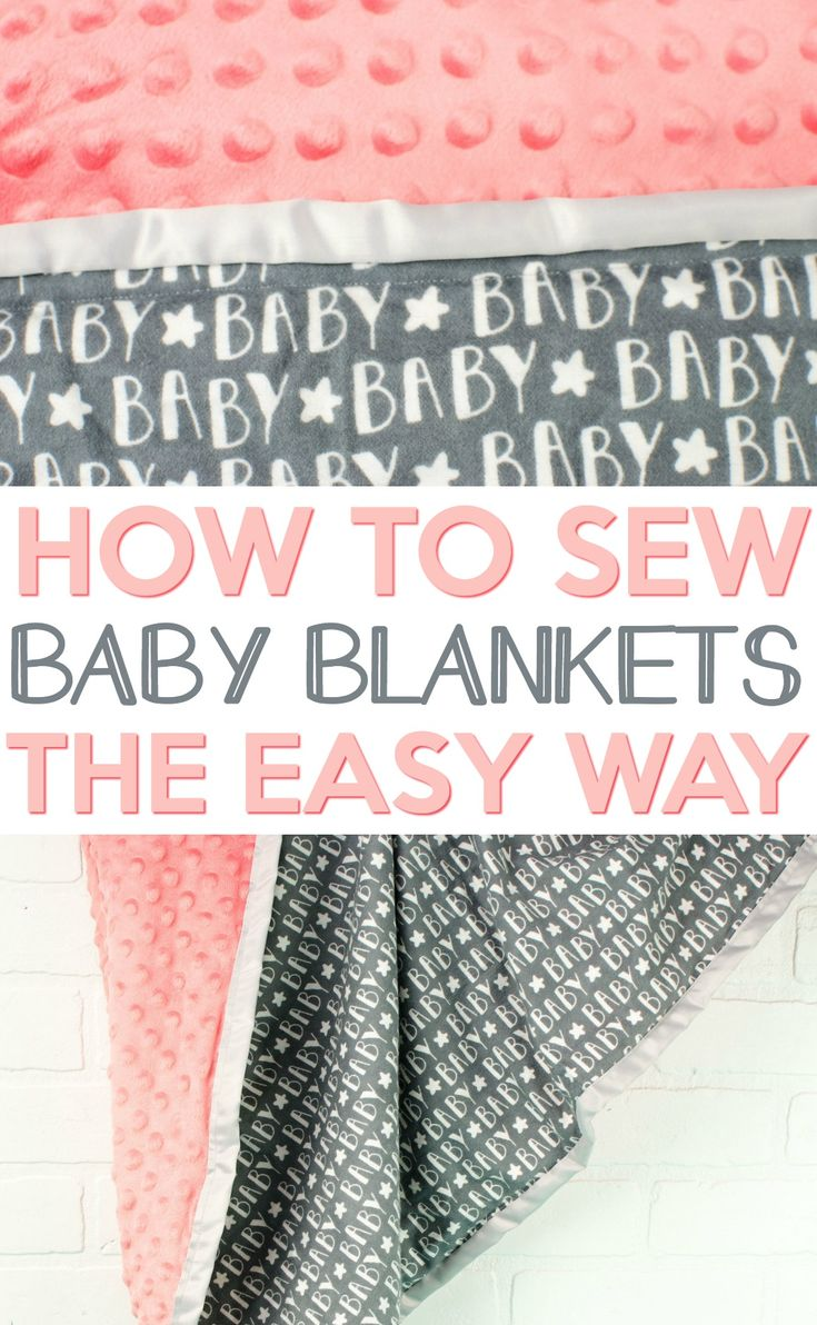Want to make a baby blanket but it sounds way too complicated? I used to think t...
